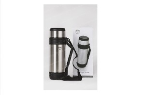 Фото: Термос Thermos Nissan Beverage Bottle with Folding Handle 1L