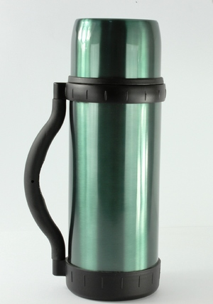 Термос Thermocafe Beverage Bottle 1L - Metal Green