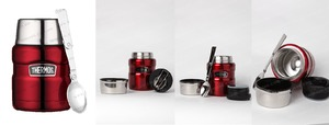 Фото: Термос для еды Thermos King Food Jar 0,47L - Cranberry